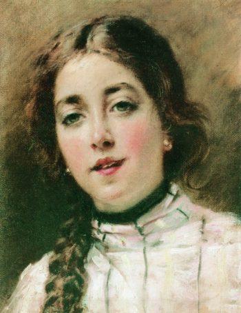 Portrait of Olga