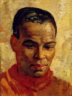 Portrait of a Man | Glyn Warren Philpot | Oil Painting