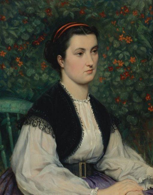 Portrait of a Lady | James Tissot | Oil Painting