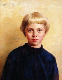 Portrait of a Boy | Konstantin Yegorovich Makovsky | Oil Painting