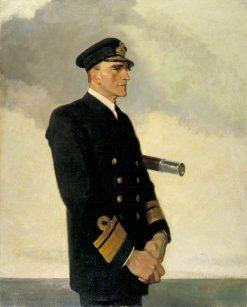Rear Admiral Sir Reginald Y. Tyrwhitt | Glyn Warren Philpot | Oil Painting