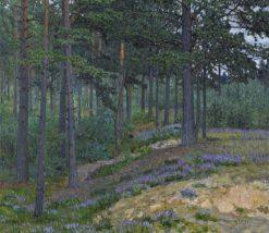 Bluebells | Nikolai Petrovich Bogdanov-Belsky | Oil Painting