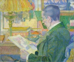 The Print Lover | Jan Toorop | Oil Painting