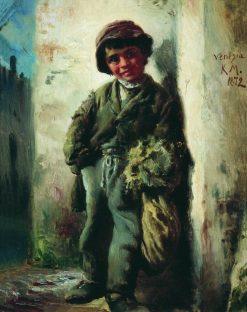 The Savoyard Boy | Konstantin Yegorovich Makovsky | Oil Painting
