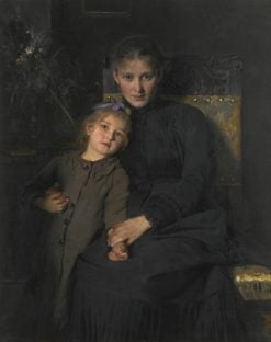 Tender Moments | Bertha Wegmann | Oil Painting