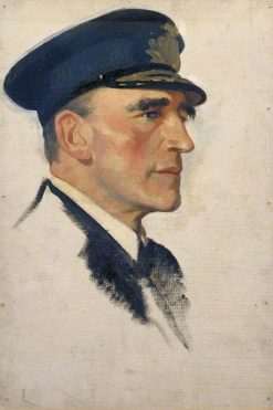 Sketch of Rear Admiral Sir Reginald Y. Tyrwhitt | Glyn Warren Philpot | Oil Painting
