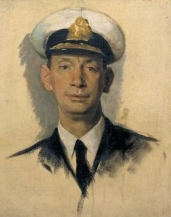Sketch of Vice Admiral Sir Roger Keyes | Glyn Warren Philpot | Oil Painting