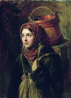 The Fishmonger | Konstantin Yegorovich Makovsky | Oil Painting