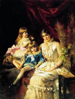 Family Portrait | Konstantin Yegorovich Makovsky | Oil Painting