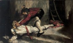The Death Blow | Glyn Warren Philpot | Oil Painting