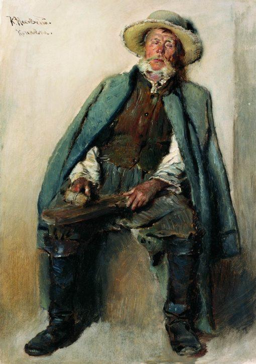 Blind Man | Konstantin Yegorovich Makovsky | Oil Painting