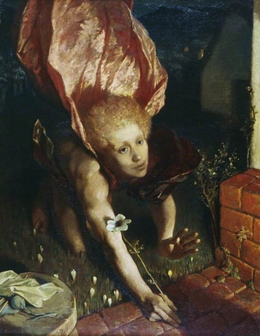 The Angel of the Annunciation | Glyn Warren Philpot | Oil Painting