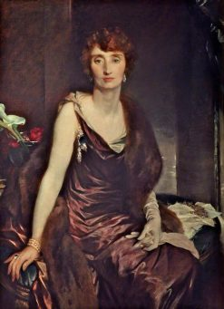 The Marchioness of Carisbrooke | Glyn Warren Philpot | Oil Painting