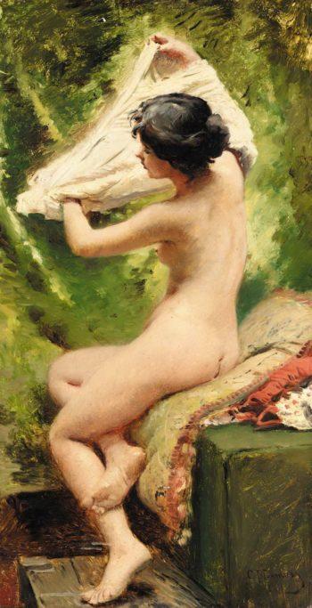 Bather | Konstantin Yegorovich Makovsky | Oil Painting