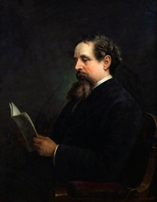 Charles Dickens | Henry Charles Bryant | Oil Painting