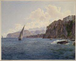 Torquato Tassos Vaterhaus in Sorrent bei Neapel | Rudolf von Alt | Oil Painting