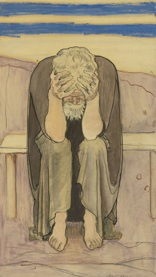Disappointment | Ferdinand Hodler | Oil Painting