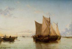 A Quiet Evening | James Webb | Oil Painting