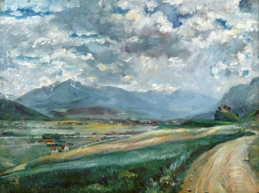 Inntal Landscape | Lovis Corinth | Oil Painting