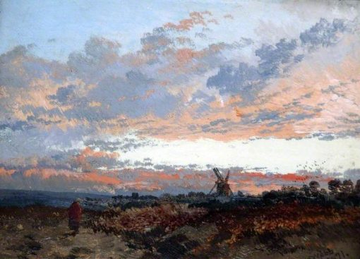 A Sunset | James Webb | Oil Painting