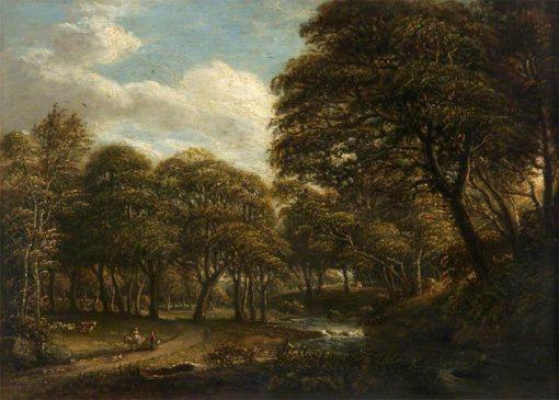 A Woody Landscape | Paul Sandby