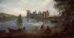 Caernarfon Castle | Paul Sandby