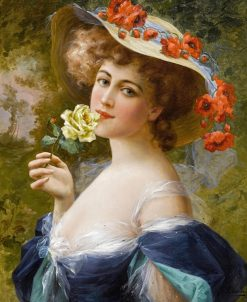 Portrait of a Lady | Emile Vernon | Oil Painting