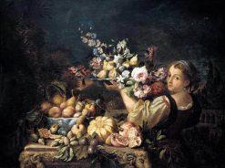 Still-Life   Abraham Brueghel   Oil Painting