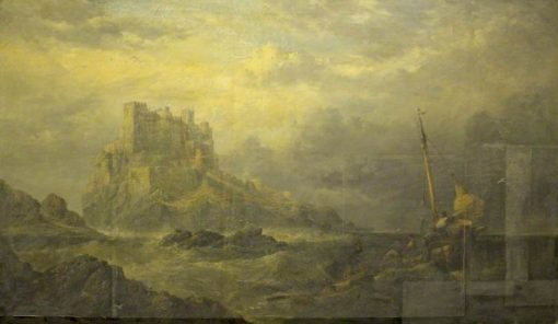Bamburgh Castle | James Webb | Oil Painting