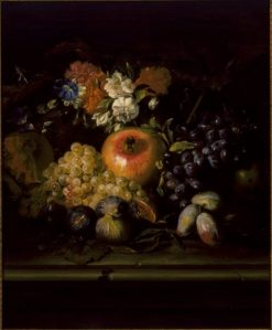 Still Life   Abraham Brueghel   Oil Painting