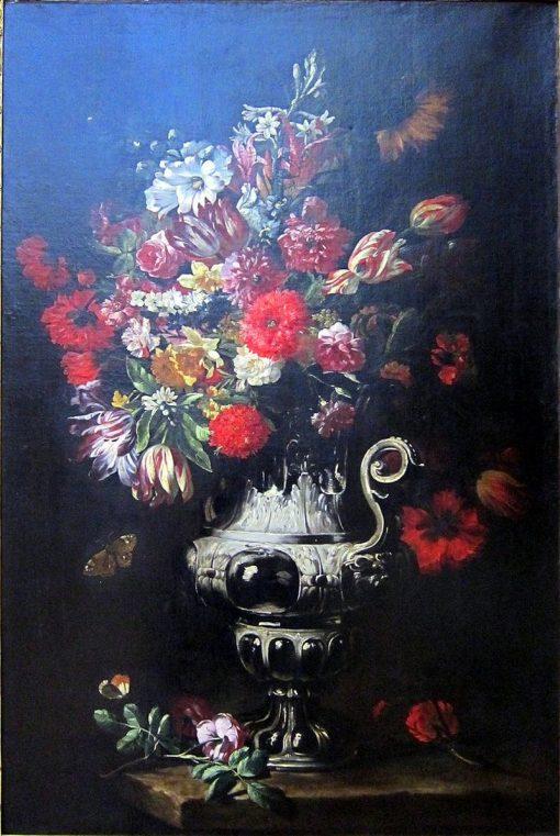 Flowers in a Vase | Abraham Brueghel | Oil Painting