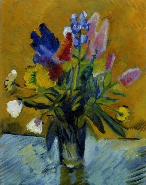 Flowers in a Glass | Nikolai Tyrsa | Oil Painting