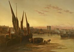 Cheyne Walk | James Webb | Oil Painting