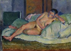Nude of the Model Yashel Fonda | Nikolai Tyrsa | Oil Painting