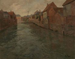 Abbeville | Fritz Thaulow | Oil Painting