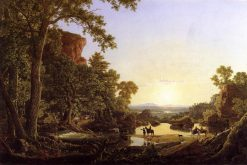 Hooker and Company Journeying through the Wilderness from Plymouth to Hartford, in 1636-1846   Frederic Edwin Church