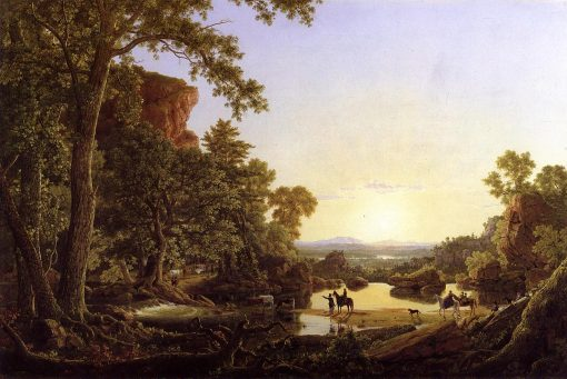 Hooker and Company Journeying through the Wilderness from Plymouth to Hartford, in 1636-1846 | Frederic Edwin Church