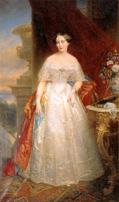 Portrait of Olga of Russia