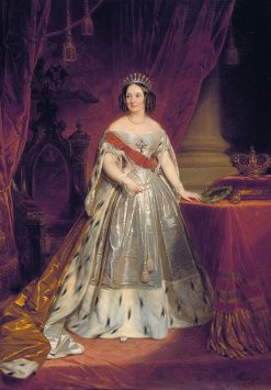 Portrait of Queen Anna of the Netherlands