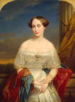 Portrait of Olga of Russia