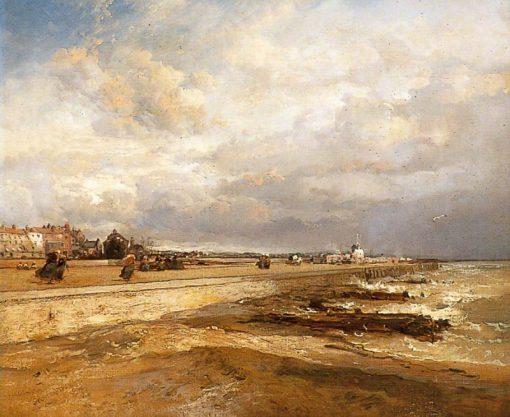 Littlehampton Esplanade | James Webb | Oil Painting