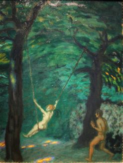 The Swing | Franz von Stuck | Oil Painting