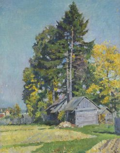Trees | Sergei Arsenevich Vinogradov | Oil Painting