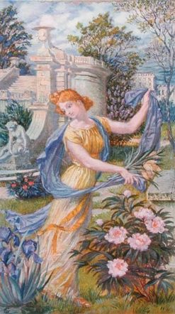 Allegory of Spring | Eugène Grasset | Oil Painting