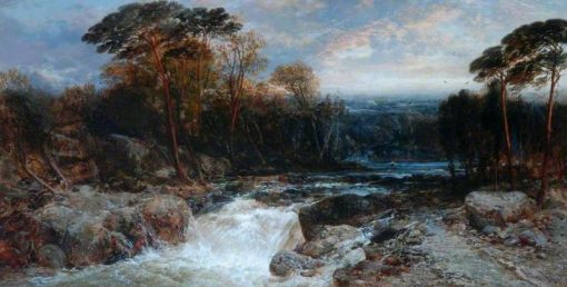 Mountain Torrent | James Webb | Oil Painting