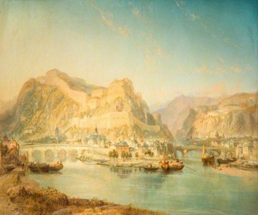Namur | James Webb | Oil Painting