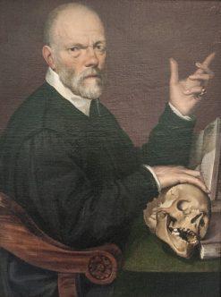 Portrait of Dr. Carlo Fontana | Bartolomeo Passarotti | Oil Painting