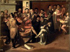 The Anatomy Lesson   Bartolomeo Passarotti   Oil Painting