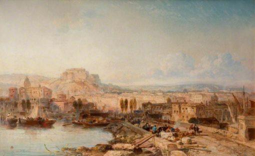Naples | James Webb | Oil Painting