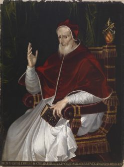 Portrait of Pope Pius V | Bartolomeo Passarotti | Oil Painting